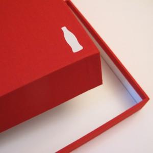 encuadernación de una caja