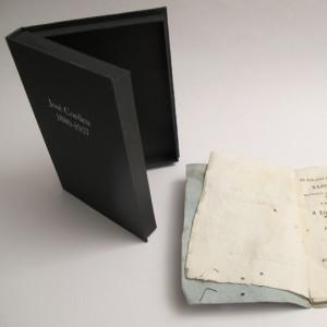 encuadernación de una caja de conservación